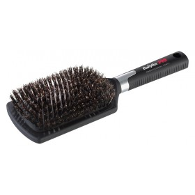ЧЕТКА ЗА РАЗРЕСВАНЕ С ГЛИГАНСКИ КОСЪМ - Professional paddle brush (large).