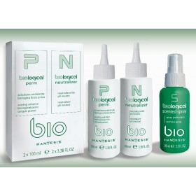 BIOLOGICAL PERM (БИОЛОГИЧЕН КЪДРИН )100 ml +  NEUTRALIZER (ФИКСАТОР ) 100 ml +  ПАРФЮМЕН СПРЕЙ 75 ml